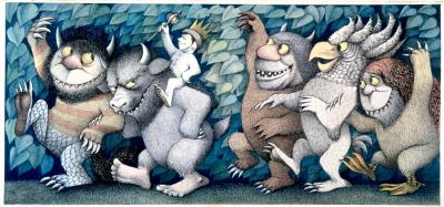 Wild Things Parade by Maurice Sendak